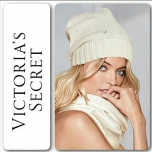 Victoria's Secret Hat and Scarf
